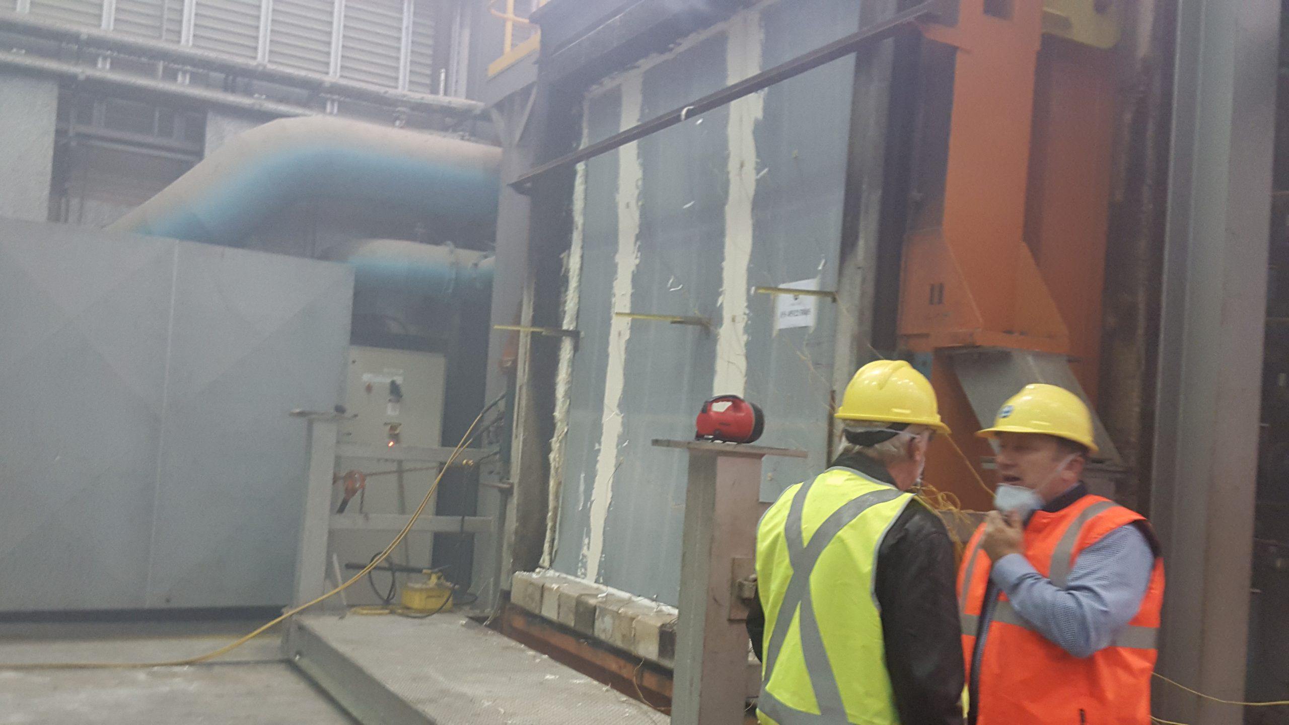 FireCrunch Fire Wall Test Centre CSIRO North Ryde - NSW FireCrunch Certification Testing