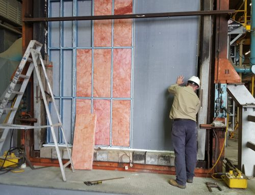 K-Wall Steel Frame Assembly CSIRO Test Centre