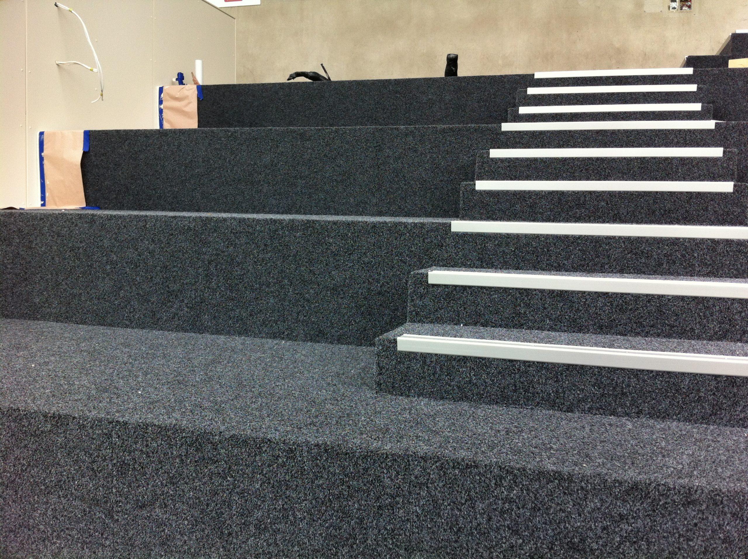 GABBA Carpet Finish Over Replaced K-Floor