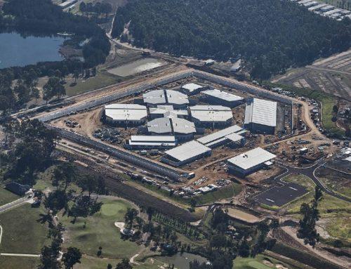Prison Cell Fire Walls Cessnock NSW