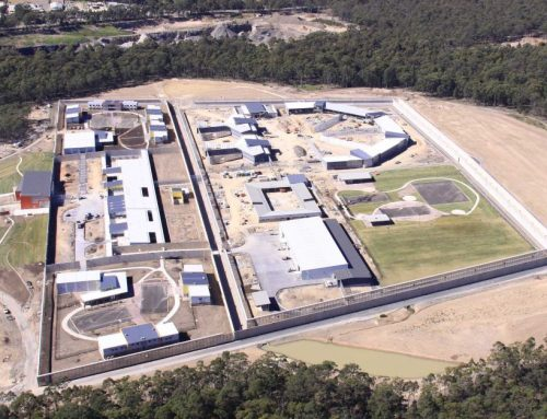 Prison Cell Fire Walls Nowra South Coast NSW