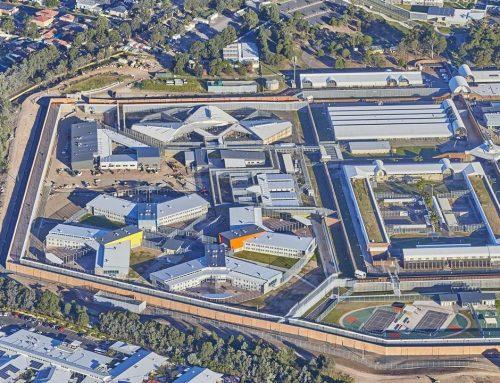 Prison Cell Fire Walls Parklea NSW