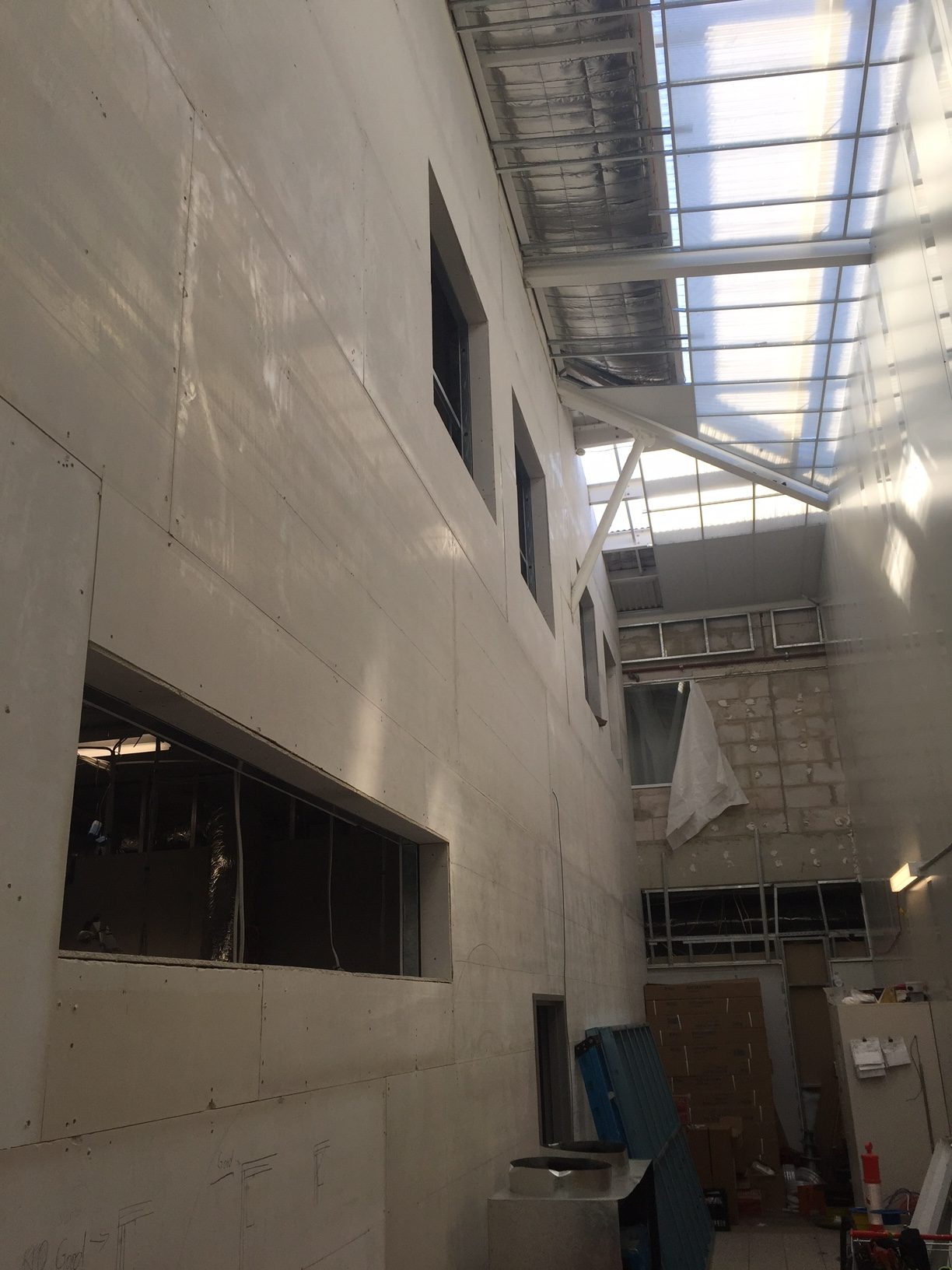 Westmead Children's Hospital Extensions FireCrunch Walls and Mezzanine Floors